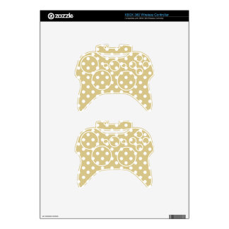 Polka Dots Pattern Gifts Xbox 360 Controller Skin