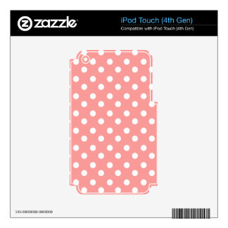 Polka Dots Pattern Gifts Decals For iPod Touch 4G