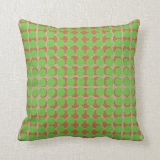 Polka Dots Pattern Green Red on any Color