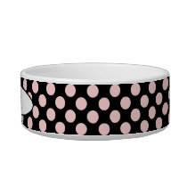 Polka-Dots Pet Bowl_Cat or Puppy Bowl