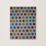 Polka dots products jigsaw puzzles