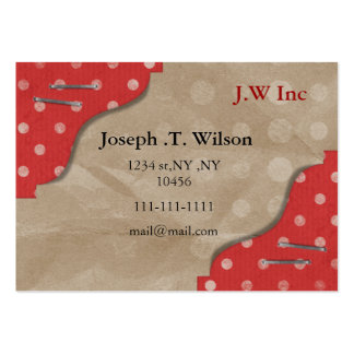 polka dots retro Business Cards