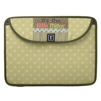 Polka Dots Rickshaw Macbook Pro 15 Laptop Sleeve