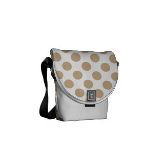 Polka Dots Sand Courier Bag