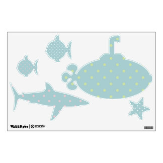 sea life wall decals wall stickers zazzle