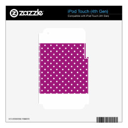 polka-dots skins for iPod touch 4G