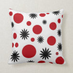 Polka Dots & Stars in Red Pillows