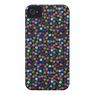 polka dots texture iPhone 4 cover