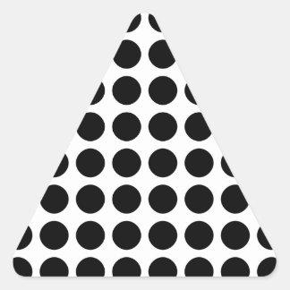 Polka Dots Triangle Sticker