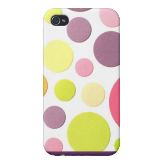 Polka Dotted iPhone 4 Speck Case Covers For iPhone 4