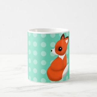Polka Fox Mug