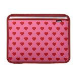 Polka Hearts MacBook Air Sleeve