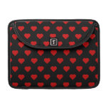 Polka Hearts Sleeve For MacBook Pro