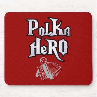 Polka Hero Mouse Pad