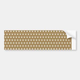 polka hots dots dot samples scores dab spot bumper sticker