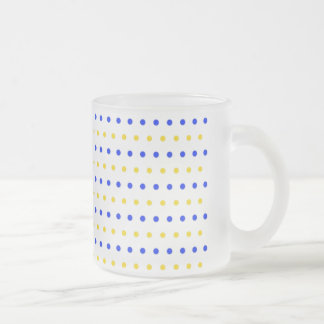 polka hots dots scores gepunktt dab peas pünk frosted glass coffee mug