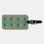 Polka Lotus : Novo Morris Collection Bag Tags