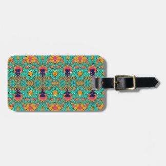 Polka Lotus Novo Morris Collection Bag Tags