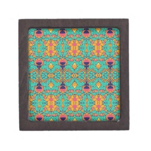 Polka Lotus : Novo Morris Collection Premium Trinket Boxes