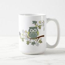 Polka Tree Owl Mug
