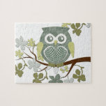 Polka Tree Owl Puzzle