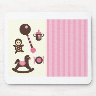 PolkaBSGirlJ3 Mouse Pad