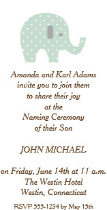 Baby Naming Ceremony Invitations Zazzle