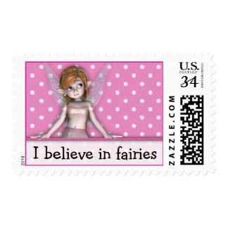Polkadot Fairy Stamps