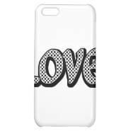 Polkadot Love iPhone 5C Cases