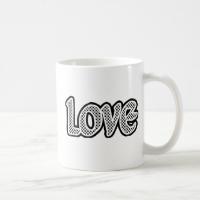 Polkadot Love Mugs