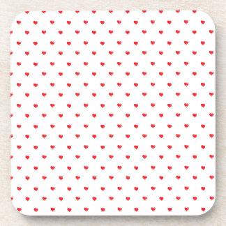 Polkadot My Heart Beverage Coaster