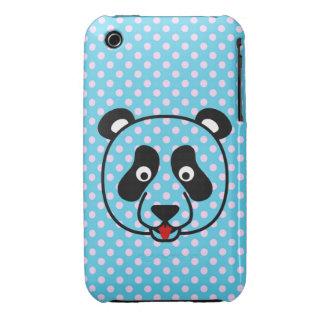 Polkadot Panda Face Case-Mate iPhone 3 Case