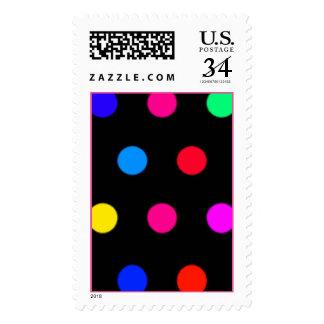 Polkadot Postage Stamps