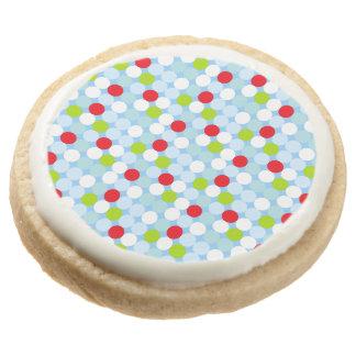 Polkadot Premium Shortbread Cookies (4pcs) Round Premium Shortbread Cookie