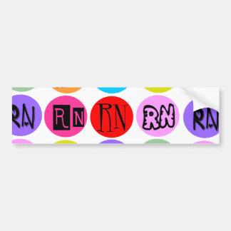 Polkadot RN Bumper Sticker