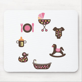 PolkadotBaby4 Mouse Pad