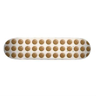 Polkadots - chocolate con leche y chocolate blanco monopatín personalizado