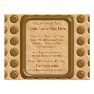 Polkadots - mantequilla de cacahuete del chocolate anuncios personalizados