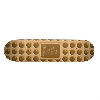 Polkadots - mantequilla de cacahuete del chocolate patin