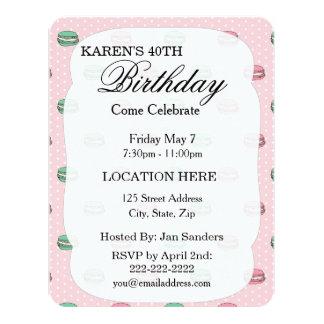 polkadots pink macarons 2.ai 4.25x5.5 paper invitation card
