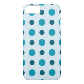 Polkadots Turquoise iPhone 8/7 Case