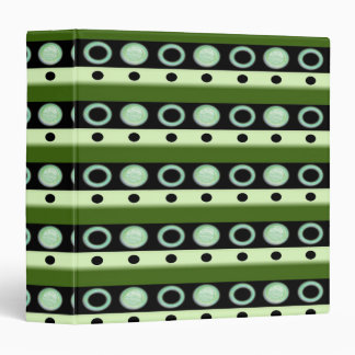 Polkdots On The Shelf Binder