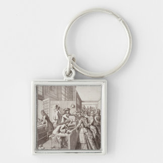 Poll Tax, 1709 Keychain