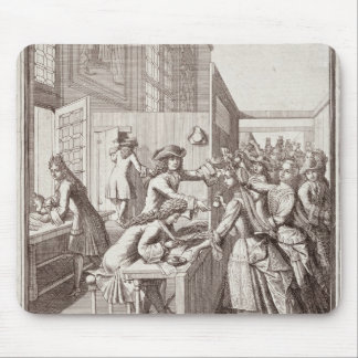 Poll Tax, 1709 Mouse Pad