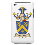 Pollart Family Crest Barely There iPod Covers