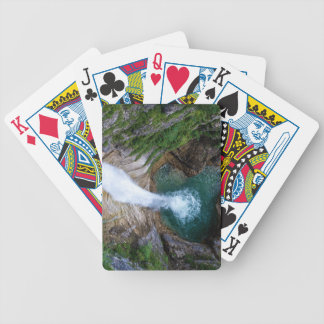 Pollat River Waterfall - Neuschwanstein Castle Bicycle Playing Cards