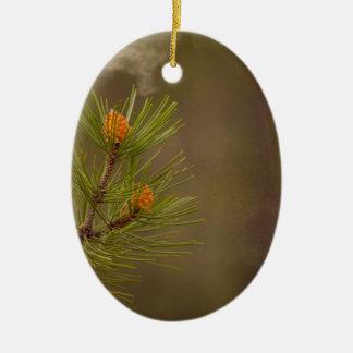 pollen ceramic ornament