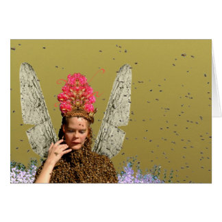 Pollen Collector Greeting Card