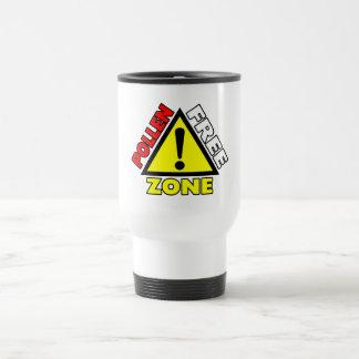 Pollen Free Zone (Hay fever - Allergic Rhinitis) Travel Mug
