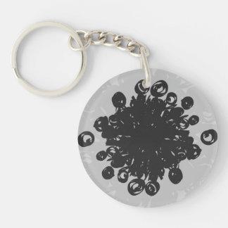 Pollen Heart Keychain